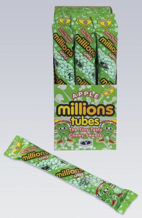 Millions Apple 60g Tubes