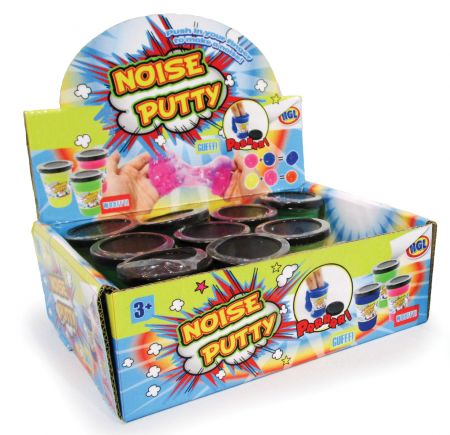Noise Putty Assorted Colours CDU