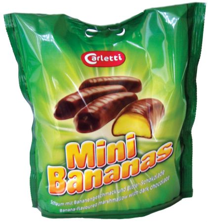 135g Chocolate Bananas Bags