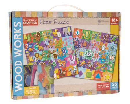Wood Works Floor Puzzle