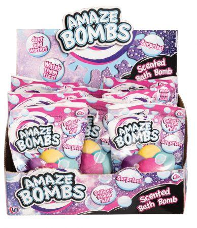 Amaze Bombs Small Scented Bath Bomb CDU