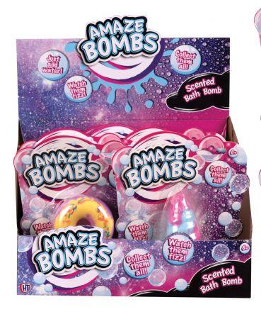 Amaze Bombs Large Scented Bath Bomb CDU