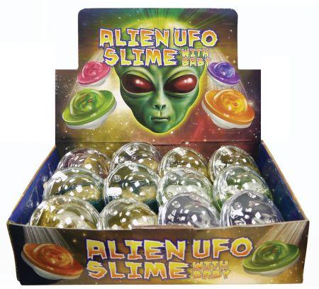 Slime UFO with Alien Baby Asst CDU