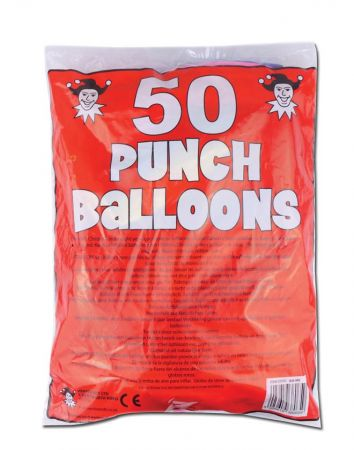 Printed Punch Balloon
