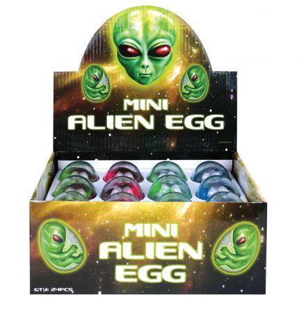 4cm Mini Alien Egg Asst CDU