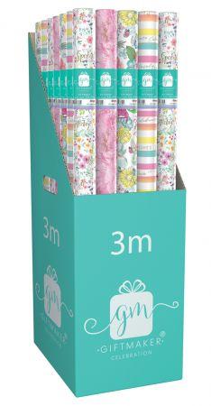 3m Gift Wrap Roll Classic Female CDU