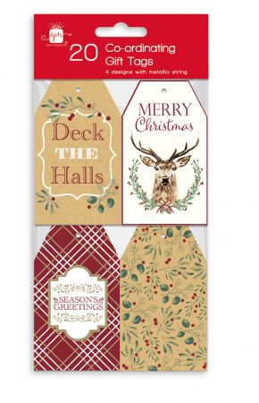 20 Contemporary Co-ordinating Gift Tags Hang