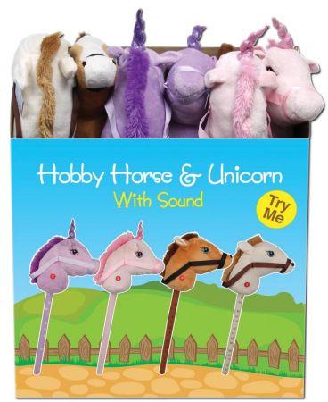 Hobby Horse & Unicorn with Sound CDU