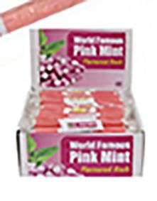 Pink Mint Rock Sticks