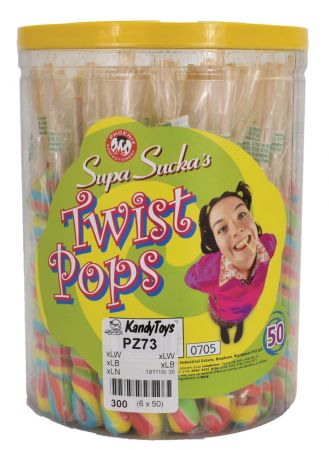 Twist Lolly Acetate TUB