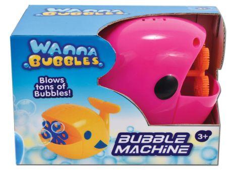 Whale Bubble Machine Boxed B/O 2 Assorte