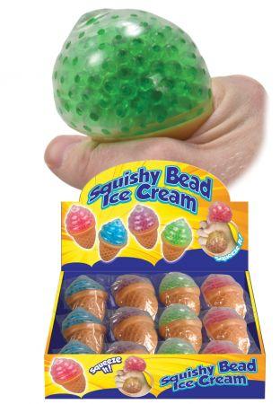 Squishy Bead Ice Cream Asst CDU