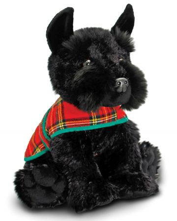 25cm Westie & Scottie With Coat
