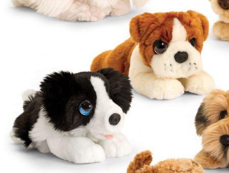 25cm Cuddles Puppy Asst