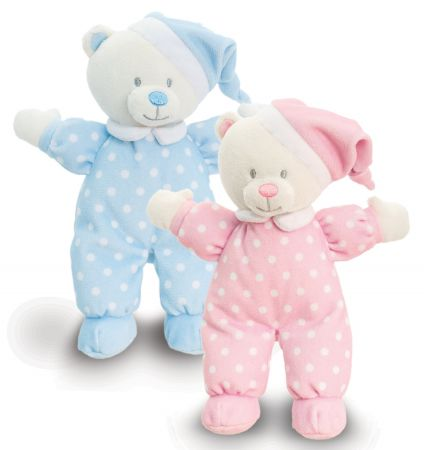 16cm Baby Goodnight Bear Colours