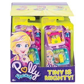 Polly Pocket Mini Compacts