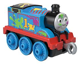 TM Push Along Paint Splat Thomas