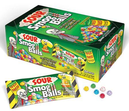 Toxic Waste Smog Balls
