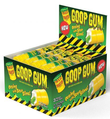 Toxic Waste 3 Pack Goo Gum