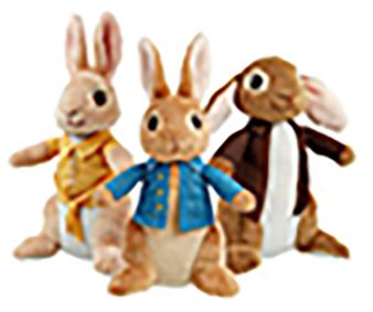 18cm Peter Rabbit & Friends CDU