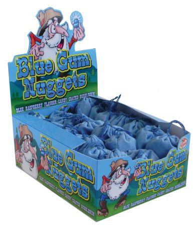 Blue Rasperry Gum Nuggets