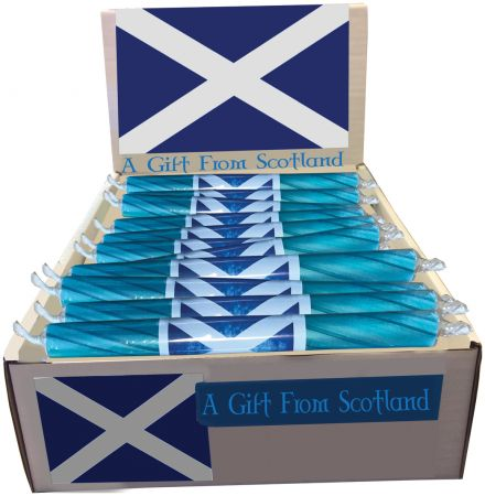 Scottish Flag Rock Sticks