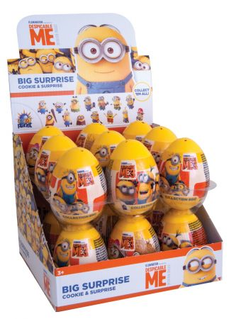 Minion Plastic Egg