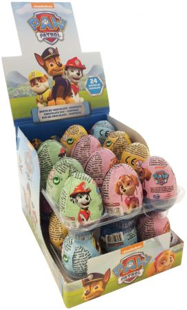 Paw Patrol Chocolate Egg