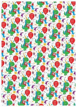 Gift Wrap - Juvenile Male 2546