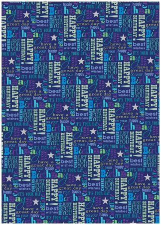Gift Wrap - Designer Male 2566