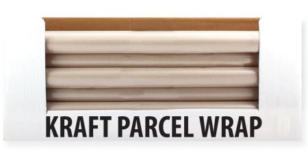50cm x 8m Kraft Wrapping Paper Roll CDU