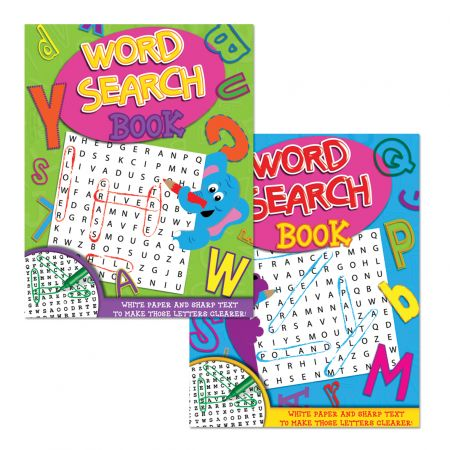 Word Search Book 80gsm White Paper