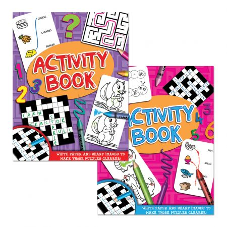Activity Book 80gsm White Paper