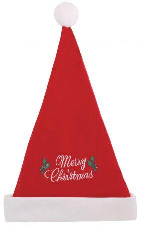 Felt Santa Hat with Christmas Slogan
