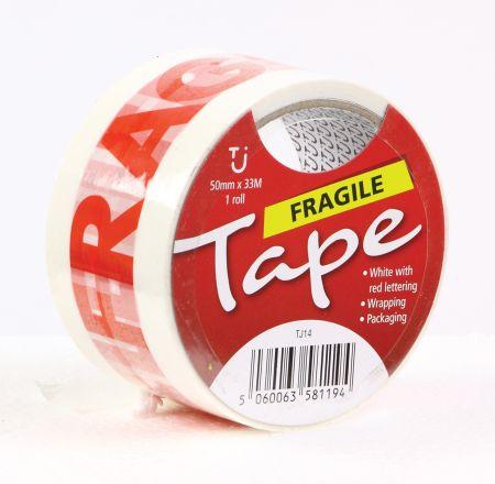50mm x 33m Fragile Tape