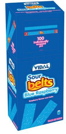 Wrapped Blue Raspberry Belts