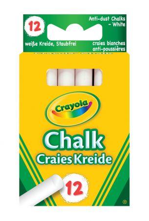Crayola 12 White Chalks Hang Pack