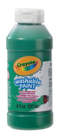 Crayola 4 Pack Washable Ready Mix Paint