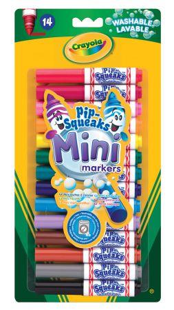 Crayola 14 Pip Squeaks Mini Markers Hang Pack