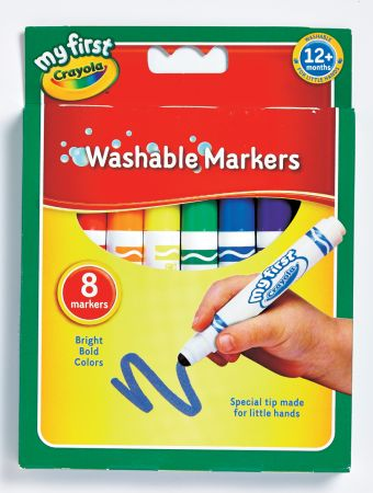 Crayola 8 My First Crayola First Markers Hang Pack