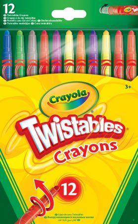 Crayola 12 Twistables Crayons Hang Pack