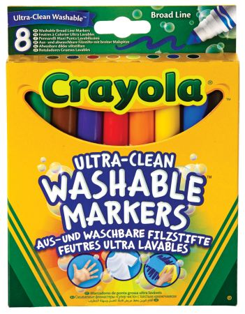 Crayola 8 Washable Markers Hang Pack