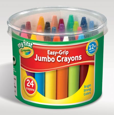 Crayola 24 My First Jumbo Crayons Hang Pack