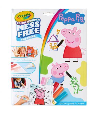 Crayola Color Wonder Peppa Pig