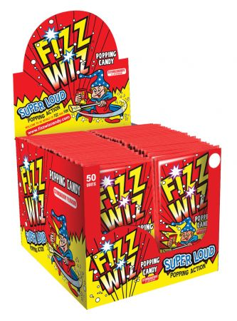 Fizz Wiz Strawberry Popping Candy